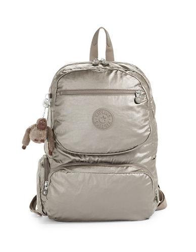 Kipling Dawson Backpack-METALLIC PEWTER-One Size