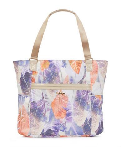 Kipling Leaf Print Tote Bag-LEAF PRINT-One Size