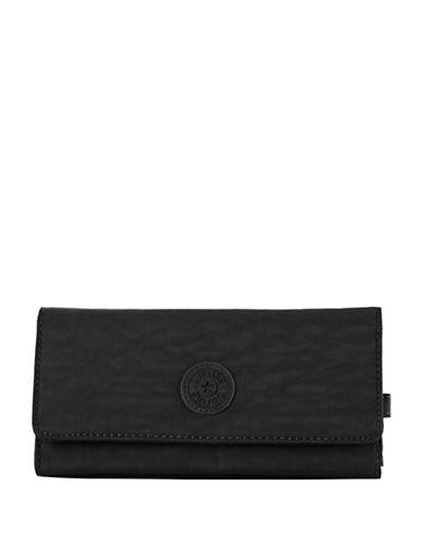 Kipling New Teddi Continental Wallet-BLACK-One Size
