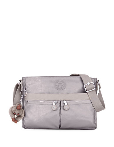 Kipling Angie Crossbody Bag-PEWTER-One Size