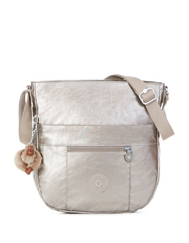 Kipling Bailey Shoulder Bag-GREY-One Size
