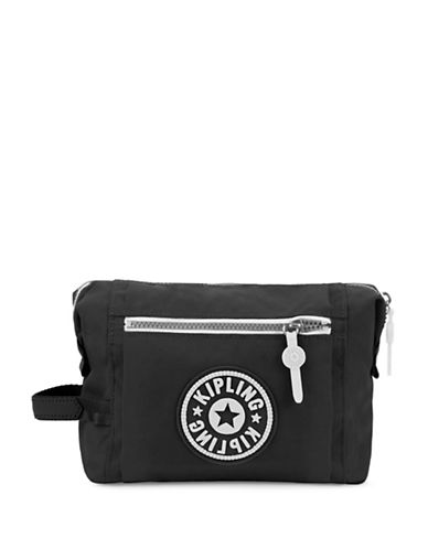 Kipling Leslie Cosmetic Pouch-BLACK-One Size