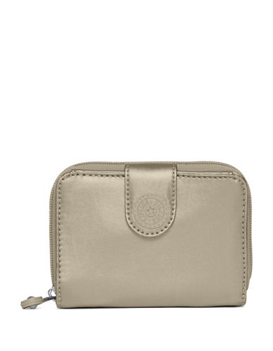 Kipling New Money Zip-Around Wallet-PEWTER-One Size