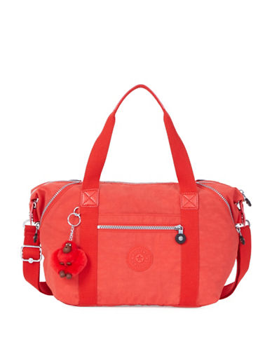 Kipling Art U Nylon Tote-RED-One Size