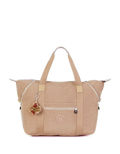 Kipling Art Medium Tote-BEIGE-One Size