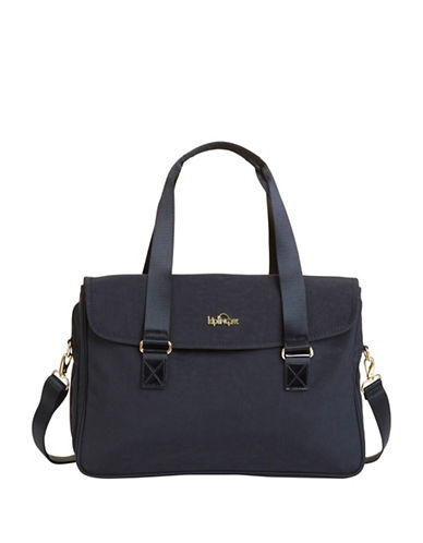 Kipling Superwork Shoulder Bag-BLACK-One Size