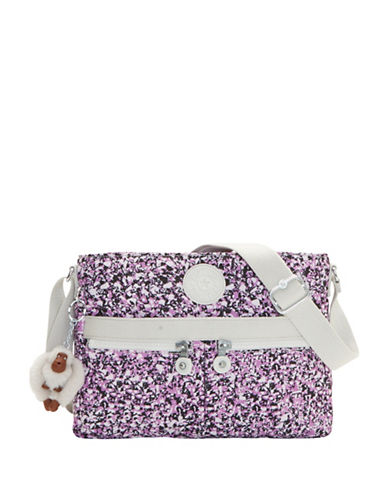 Kipling Angie Printed Crossbody Bag-PURPLE-One Size