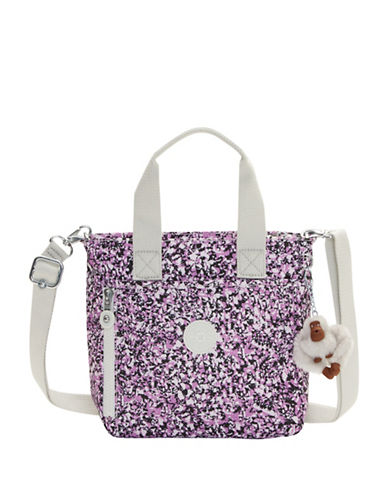 Kipling Alexios Nylon Tote Bag-PURPLE-One Size