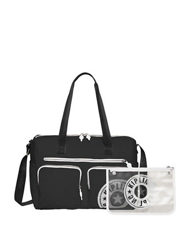 Kipling Stefany Tote Bag-BLACK-One Size