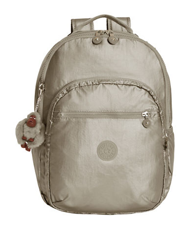 Kipling Seoul Backpack-GREY-One Size