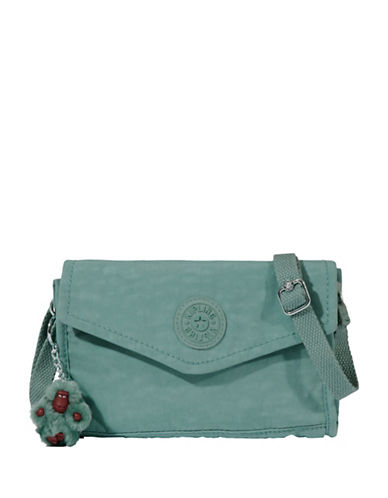 Kipling Bee Crossbody Bag-GREEN-One Size