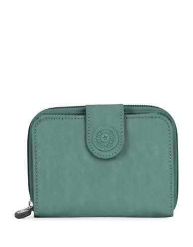 Kipling New Money Zip-Around Wallet-GREEN-One Size