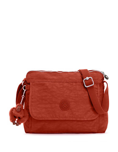 Kipling Aisling Crossbody Bag-RED-One Size