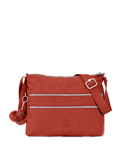 Kipling Alvar Crossbody Bag-RED-One Size