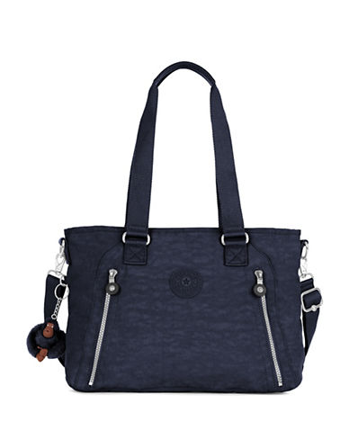 Kipling Angela Medium Nylon Shoulder Bag-BLUE-One Size