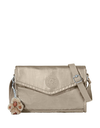 Kipling Bee Crossbody Bag-PEWTER-One Size