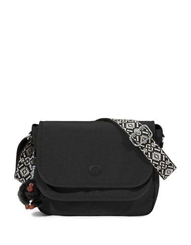 Kipling Brooklyn Crossbody Bag-BLACK-One Size