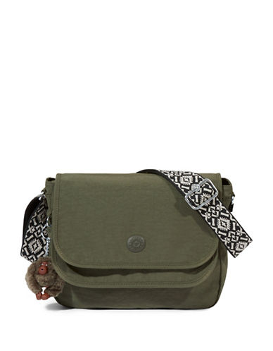 Kipling Brooklyn Crossbody Bag-GREEN-One Size