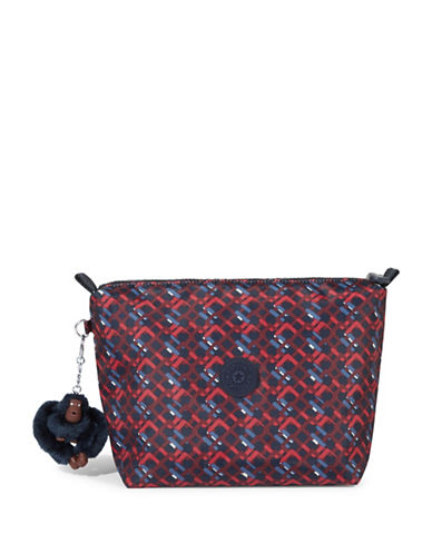 Kipling Daisies Moa Cosmetic Case-GREY-One Size