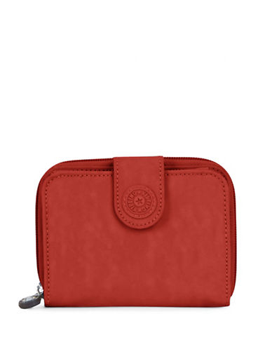 Kipling New Money Zip-Around Wallet-RED-One Size