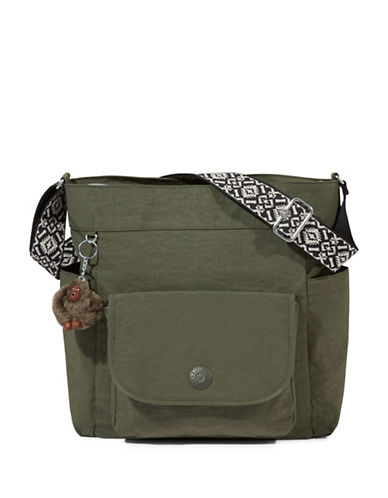 Kipling Nyrie Hobo Bag-GREEN-One Size