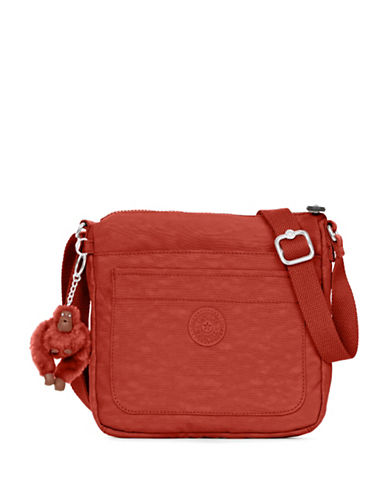 Kipling Sebastian Crossbody Bag-RED-One Size