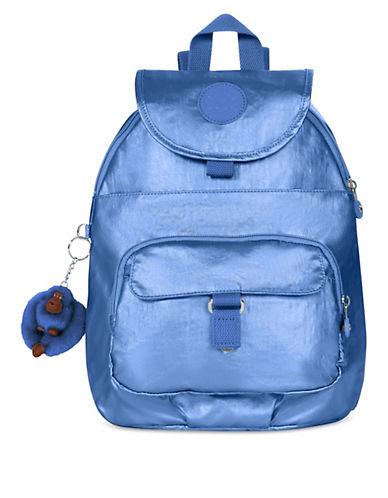 Kipling Seoul Printed Backpack-GREY-One Size