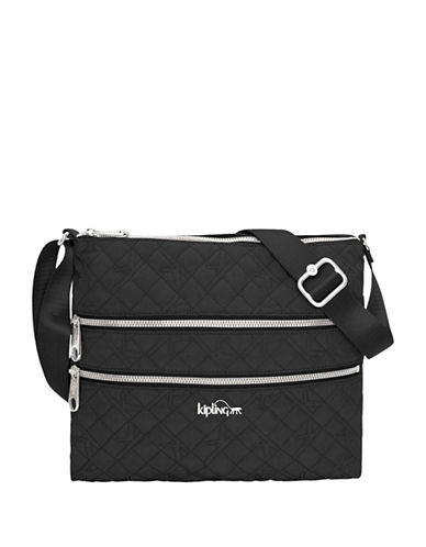 Kipling Alvar Crossbody Bag-BLACK-One Size