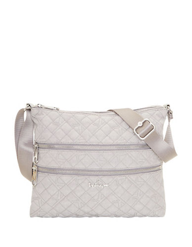 Kipling Alvar Crossbody Bag-GREY-One Size