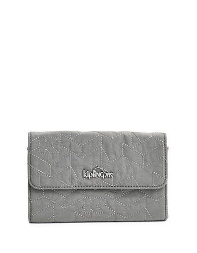 Kipling Snap-Flap Wallet-GREY-One Size