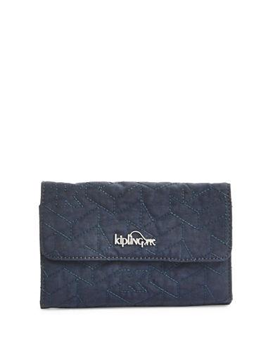 Kipling Snap-Flap Wallet-BLUE-One Size