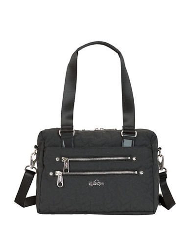Kipling Klara Satchel-BLACK-One Size