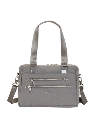 Kipling Klara Satchel-GREY-One Size
