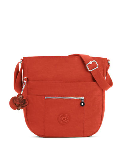 Kipling Bailey Shoulder Bag-RED-One Size