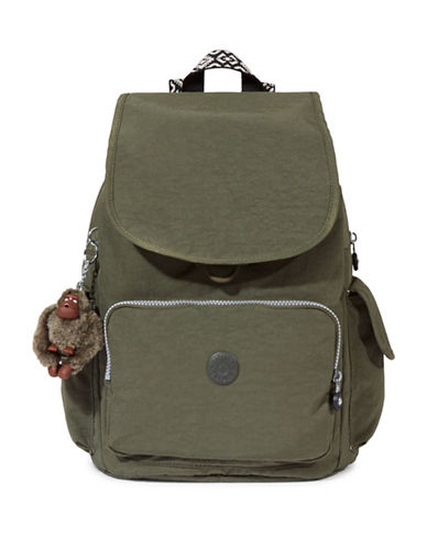 Kipling Ravier Backpack-GREEN-One Size