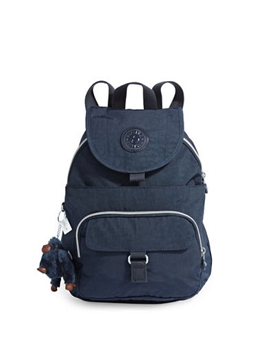 Kipling Queenie Backpack-BLUE-One Size