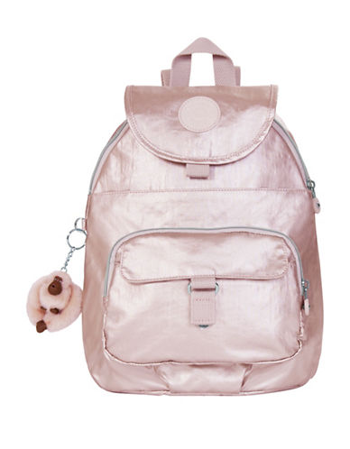 Kipling Queenie Backpack-GOLD-One Size