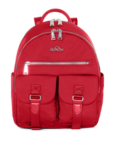 Kipling Amory Backpack-RED-One Size
