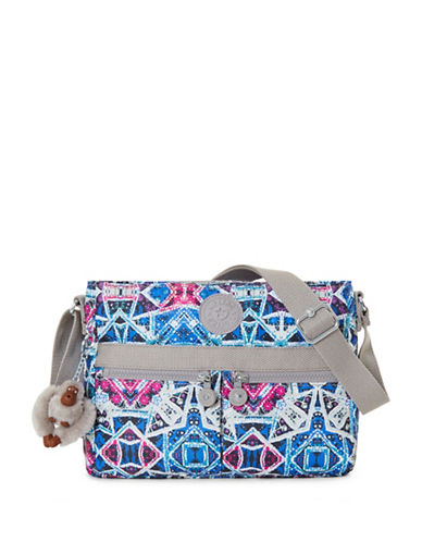 Kipling Angie Printed Crossbody Bag-SKY-One Size
