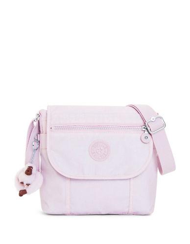 Kipling Brom Logo Crossbody Bag-PINK-One Size