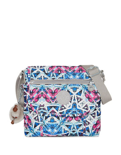 Kipling Brom Geometrical Logo Crossbody Bag-SKY-One Size