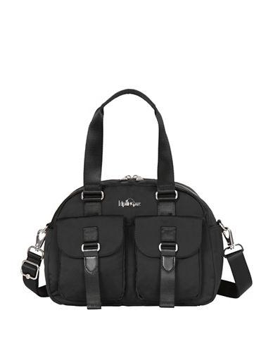 Kipling Defea Satchel-BLACK-One Size