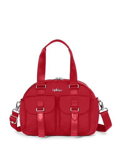 Kipling Defea Satchel-RED-One Size