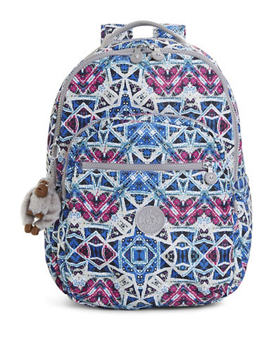 Kipling Seoul Printed Backpack-SKY-One Size