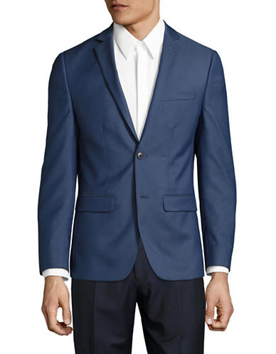 1670 Slim Fit Stretch Suit Jacket-BLUE-42 Regular