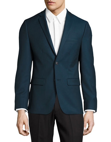 1670 Slim Fit Stretch Suit Jacket-BLUE-44 Tall