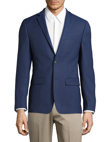 1670 Slim Fit Stretch Suit Jacket-BLUE-36 Regular