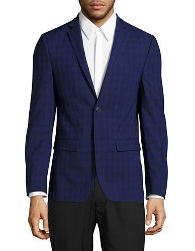 1670 Slim Fit Stretch Suit Jacket-BLUE-34 Regular