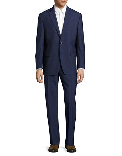 Lauren Ralph Lauren Slim Fit Ultra Flex Stretch Suit-BLUE-42 Regular
