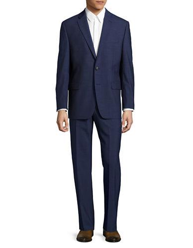 Lauren Ralph Lauren Slim Fit Ultra Flex Stretch Suit-BLUE-42 Short